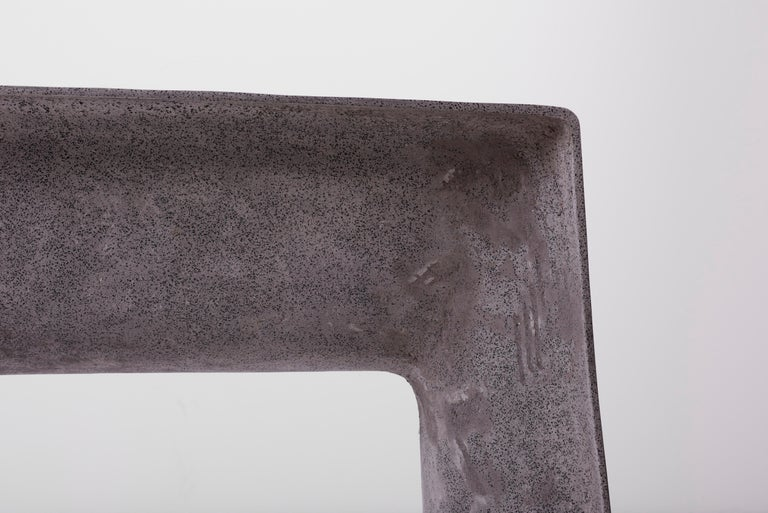 Architectural Concrete Bench by Martin Kleppe, Germany, circa 2011 For Sale 6