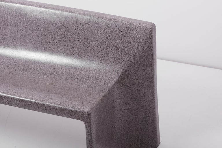 Architectural Concrete Bench by Martin Kleppe, Germany, circa 2011 For Sale 8