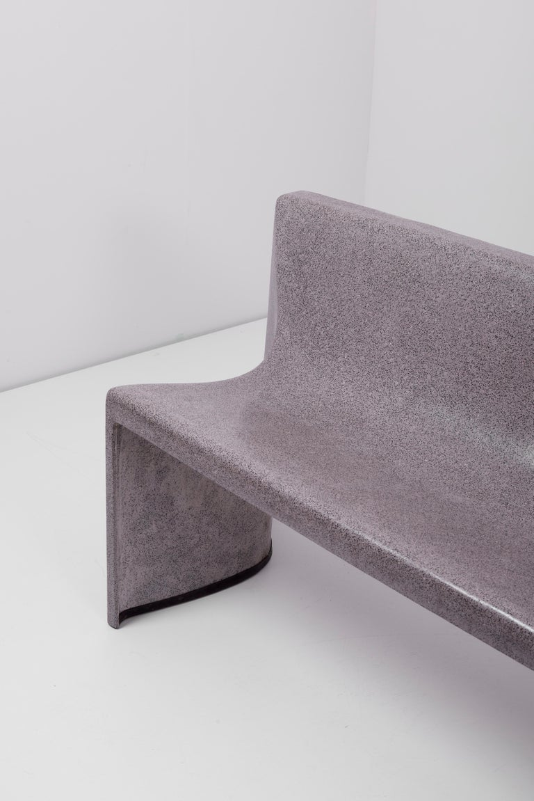 Architectural Concrete Bench by Martin Kleppe, Germany, circa 2011 For Sale 9