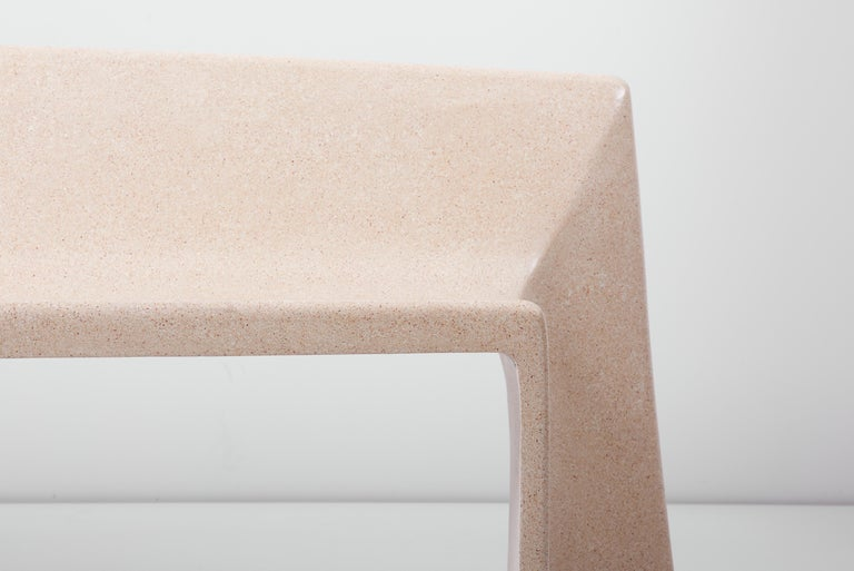 Modern Architectural Concrete Bench by Martin Kleppe, Germany, circa 2011 For Sale