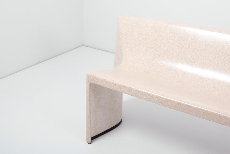 Architectural Concrete Bench by Martin Kleppe, Germany, circa 2011 In Excellent Condition For Sale In Berlin, DE