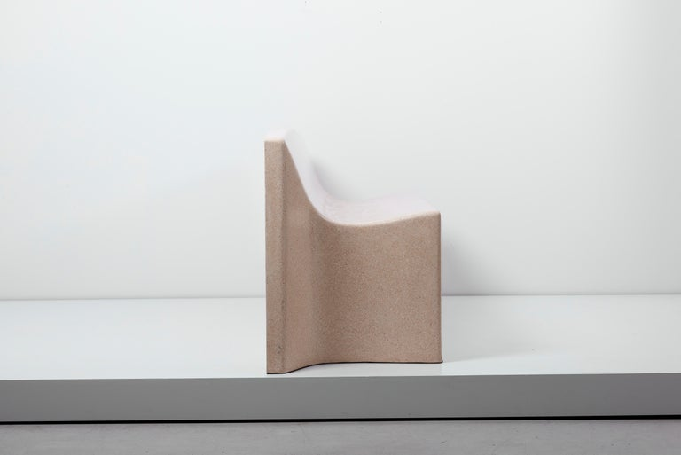 Architectural Concrete Bench by Martin Kleppe, Germany, circa 2011 For Sale 2