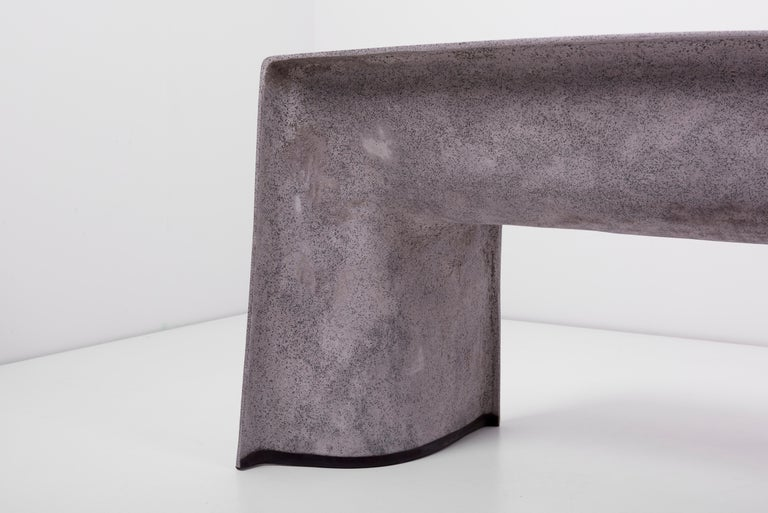 Architectural Concrete Bench by Martin Kleppe, Germany, circa 2011 For Sale 3