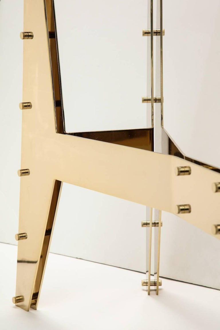 Mid-Century Modern Architectural Console Table For Sale