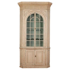 Architectural Corner Cupboard