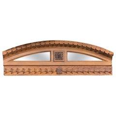 Architectural Demilune Mirror Fragment