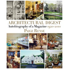 Architectural Digest Autobiography of a Magazine, 1920-2010