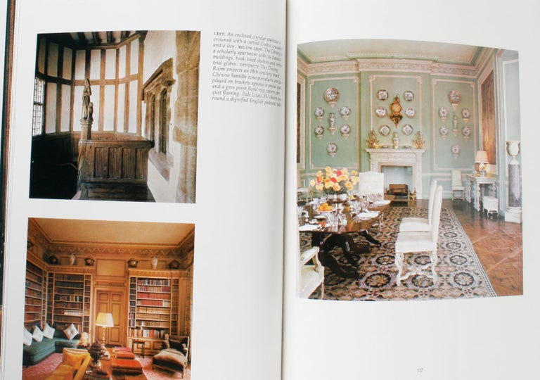 Architectural Digest Historic Interiors by Paige Rense, First Edition For Sale 9