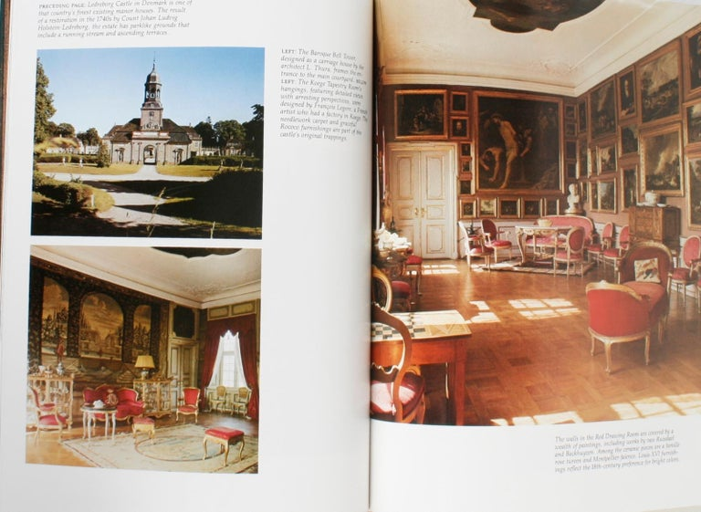 Architectural Digest Historic Interiors by Paige Rense, First Edition For Sale 11