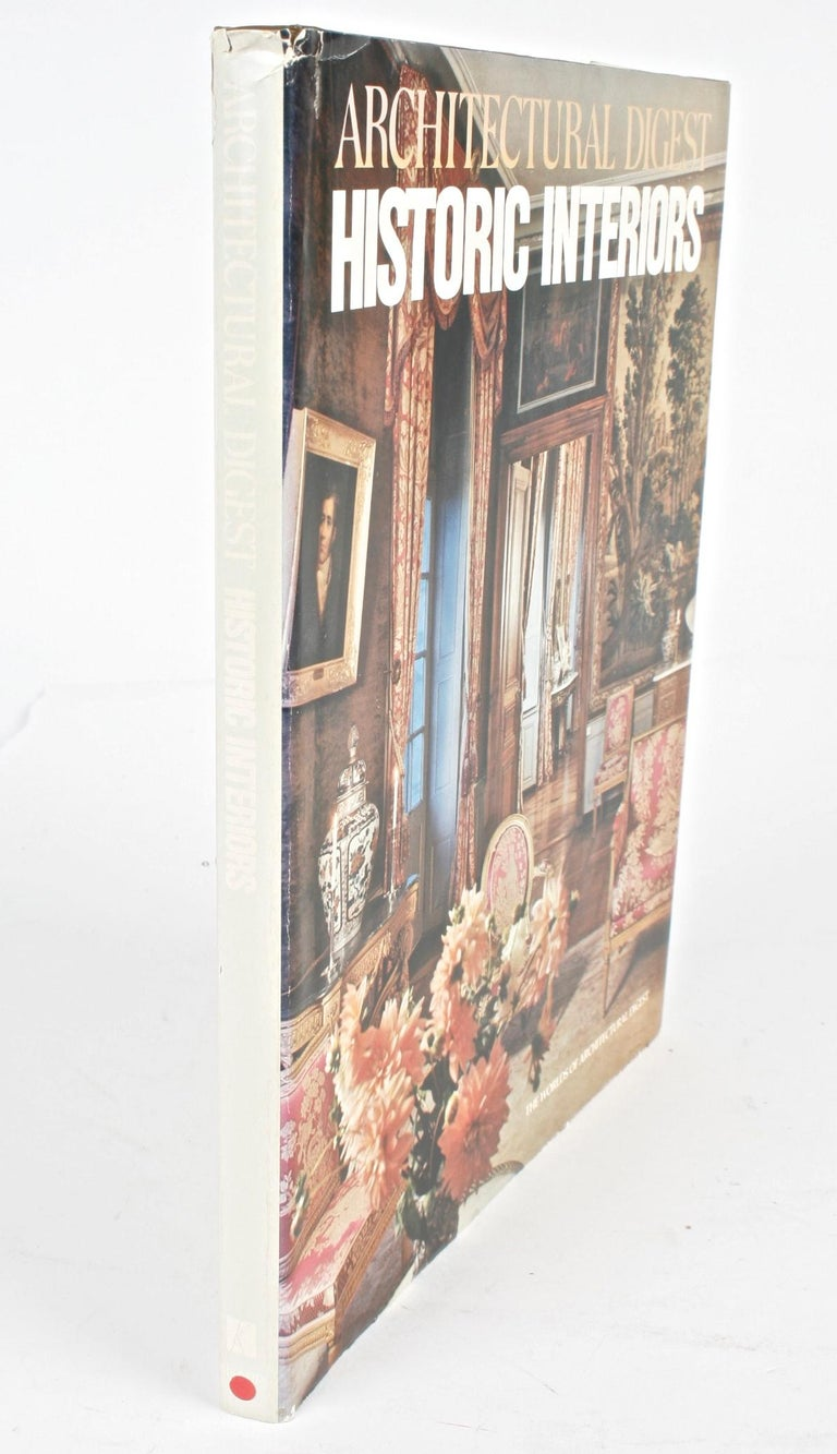 Architectural Digest Historic Interiors by Paige Rense, First Edition For Sale 13