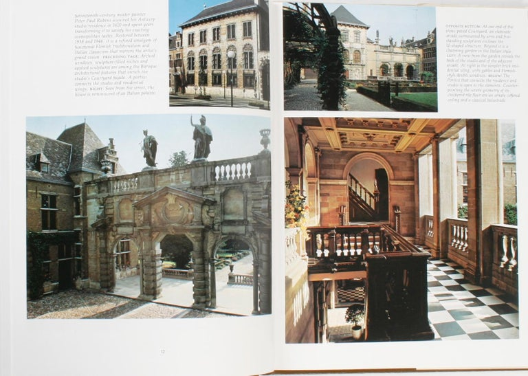 American Architectural Digest Historic Interiors by Paige Rense, First Edition For Sale