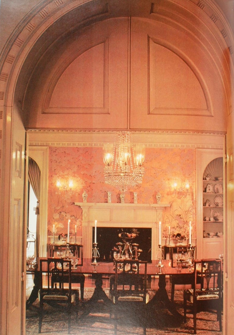 Late 20th Century Architectural Digest Historic Interiors by Paige Rense, First Edition For Sale