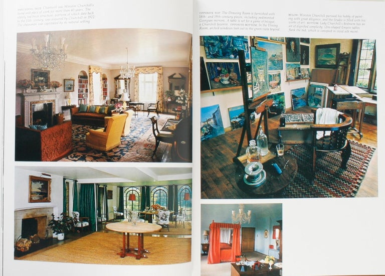 Architectural Digest Historic Interiors by Paige Rense, First Edition For Sale 2