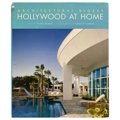Architectural Digest Hollywood at Home Coffee Table Book