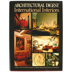 Architectural Digest International Interiors, Stated First Edition
