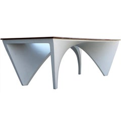 Architectural Dining Table by Studio L'Opere ei Giorni