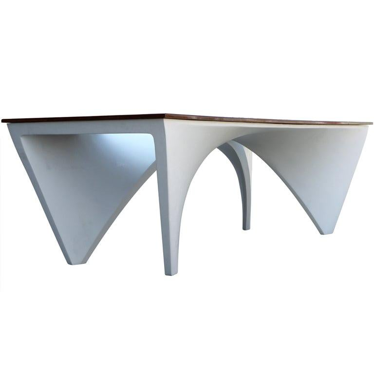 Architectural Dining Table by Studio L'Opere ei Giorni For Sale