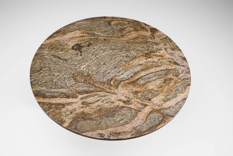 Architectural Dining Table in Travertine For Sale 2