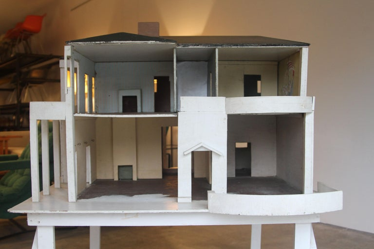Wood Architectural Eames House Model / Dollhouse For Sale