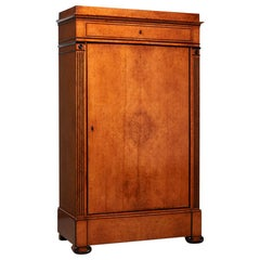 Architectural Early 19th Century German Biedermeier Cabinet