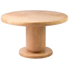 Architectural Extendable Circular Dining Table