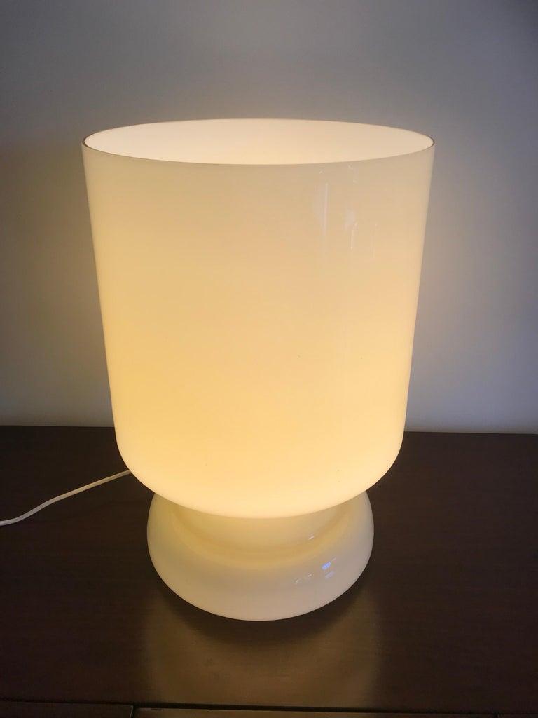 Italian Vetri Murano Architectural Glass Lamp For Sale