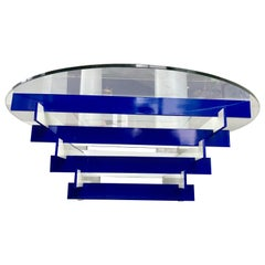 Architectural Glass Top Coffee Table