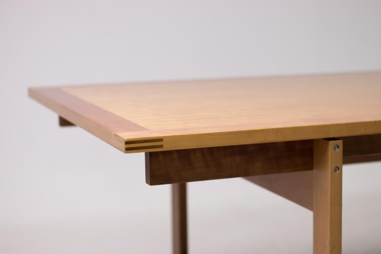 Danish Architectural M40 Dining Table by Henning Jensen & Torben Valeur For Sale