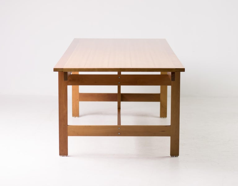 20th Century Architectural M40 Dining Table by Henning Jensen & Torben Valeur For Sale