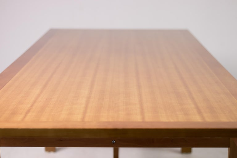 Cherry Architectural M40 Dining Table by Henning Jensen & Torben Valeur For Sale