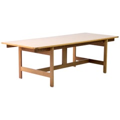 Architectural M40 Dining Table by Henning Jensen & Torben Valeur