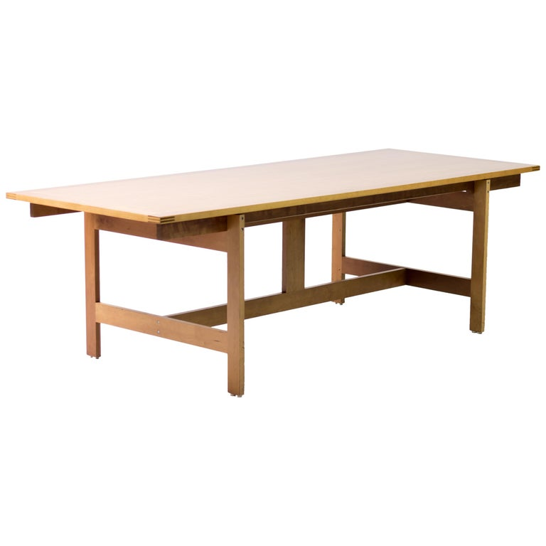 Architectural M40 Dining Table by Henning Jensen & Torben Valeur For Sale