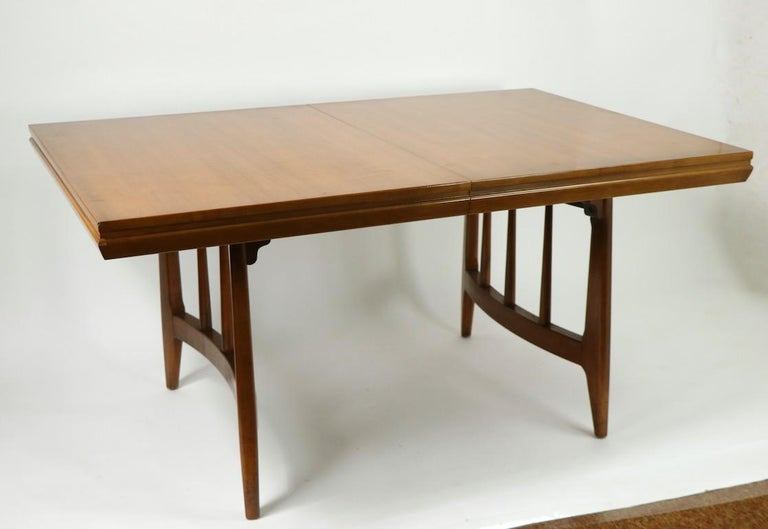 American Architectural Mid Century Dining Table For Sale