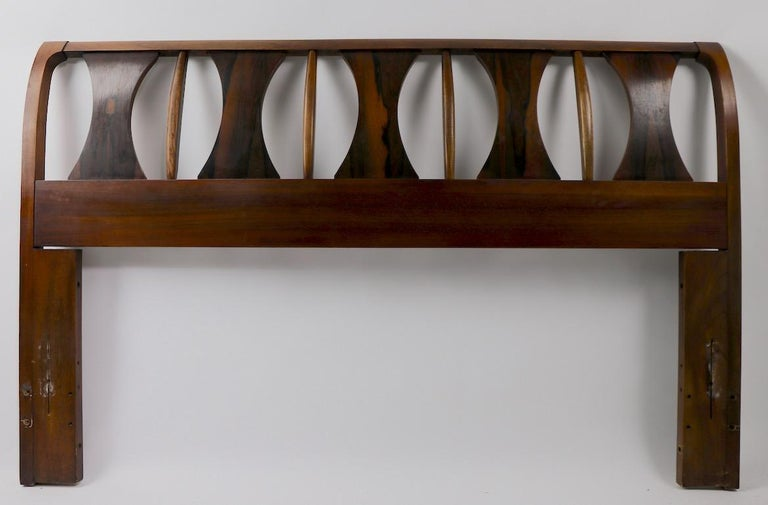 Architectural Mid Century  Headboard Perspecta by Kent Coffey For Sale 5