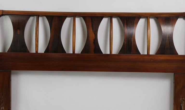 Mid-Century Modern Architectural Mid Century  Headboard Perspecta by Kent Coffey For Sale