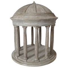Architectural Model of a Palladian Temple by Maitland Smith