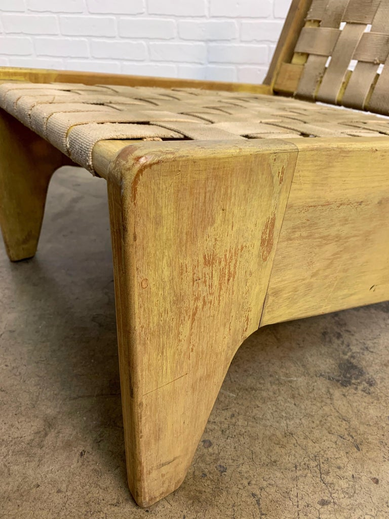 Architectural Modernist Slipper Chair For Sale 13