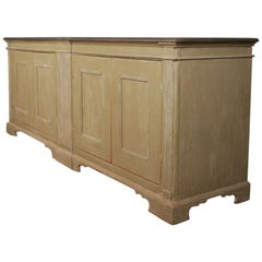 Architectural Painted Sideboard