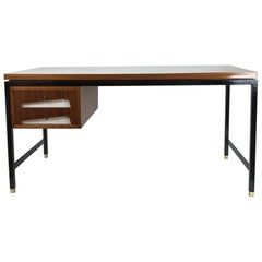 Architectural Partners Desk Attributed to Gio Ponti