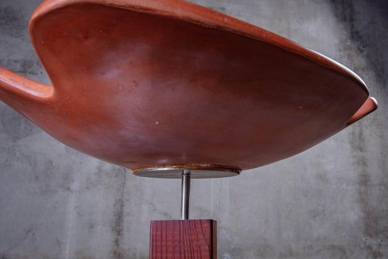 Architectural Pottery Bird Spa For Sale 5
