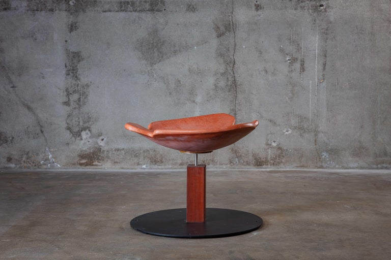 Architectural Pottery bird spa in rust color finish.