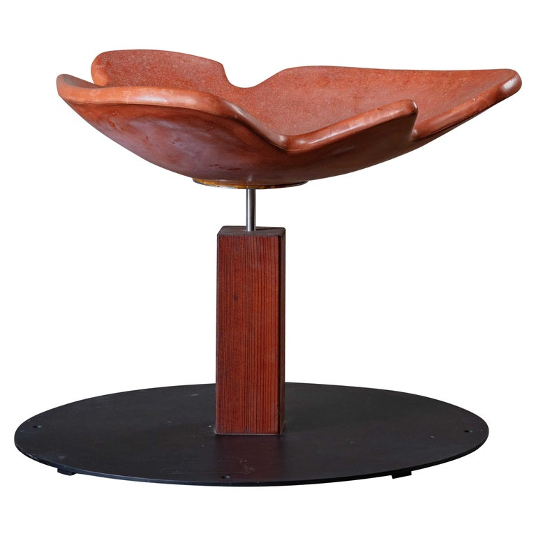 Architectural Pottery Bird Spa For Sale
