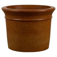 "Architectural Pottery ""Golden Ochre"" Planter"