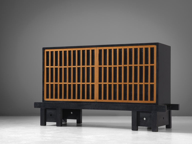 Credenza, maple and plywood, 1960s.