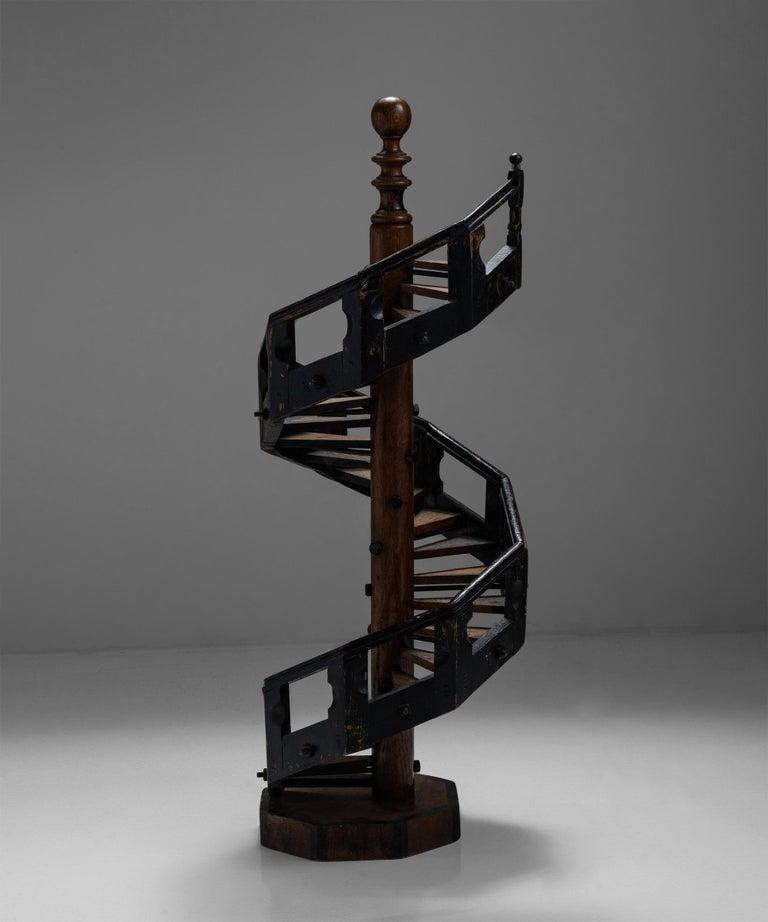 English Architectural Staircase Model, England, Circa 1890 For Sale