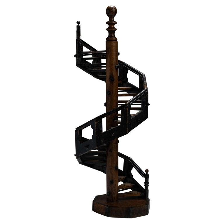 Architectural Staircase Model, England, Circa 1890 For Sale