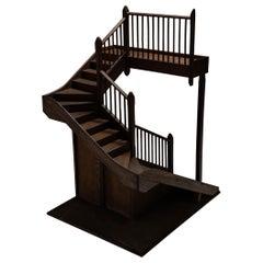 Architectural Staircase Model, England, Circa 1900