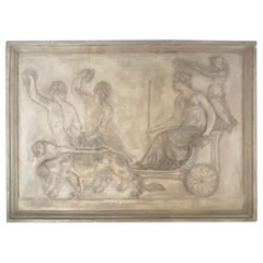 Architectural Terra-cotta Bas Relief Sculpture Plaques Italian Terracotta