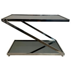 Architectural Vintage Z-Form Dry Bar/ Low Console