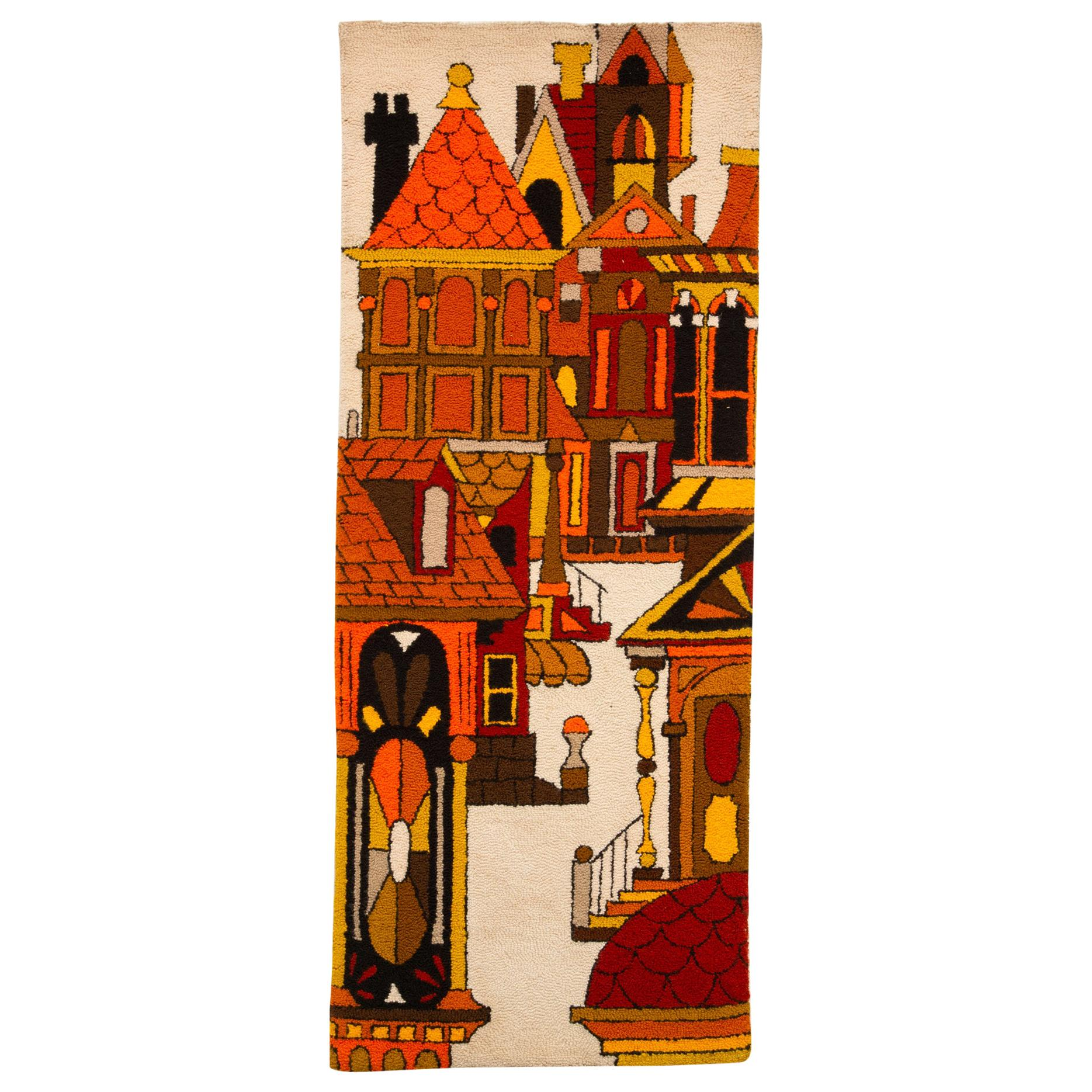 Architectural Wall Hanging Tapestry